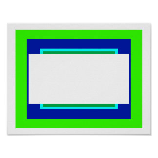 Escolha a cor do fundo, quadro adicionam sua image impressão