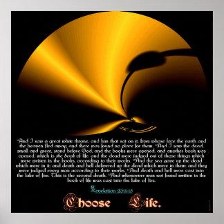 Escolha a vida poster