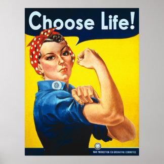 Escolha a vida pôster