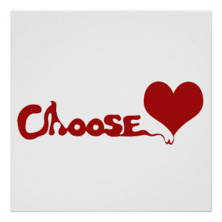 Escolha o amor poster