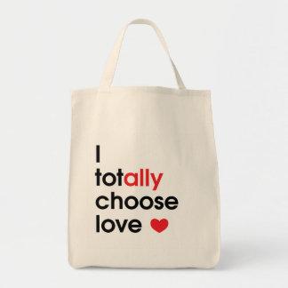 Escolha o bolsa do amor