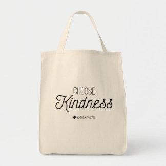 Escolha o bolsa do mantimento da bondade