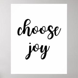 Escolha o poster da alegria
