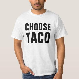 Escolha o Taco Tshirt