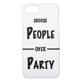 Escolha pessoas sobre capas de iphone do partido