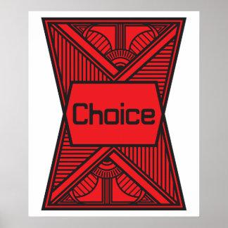 Escolha Poster