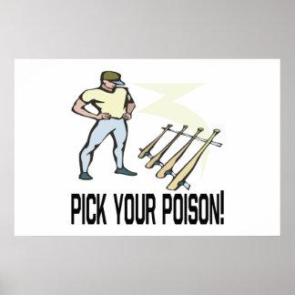 Escolha seu veneno impressão