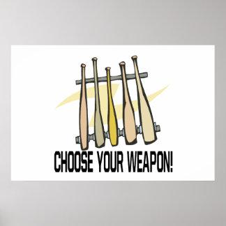 Escolha seu Weopon Impressão