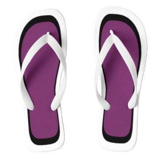 Escolha seus chinelos brancos/pretos da cor da