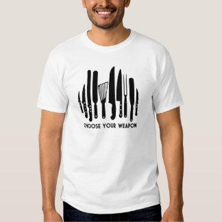 Escolha sua arma t-shirt