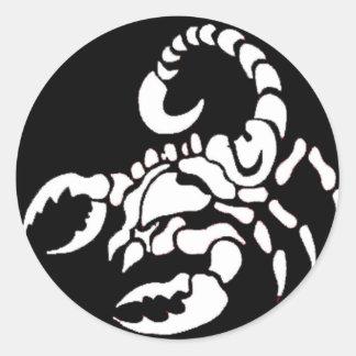 """""""Escorpião """" Adesivo"""