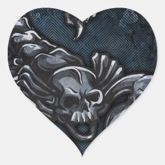 Escorpião Adesivo Coração