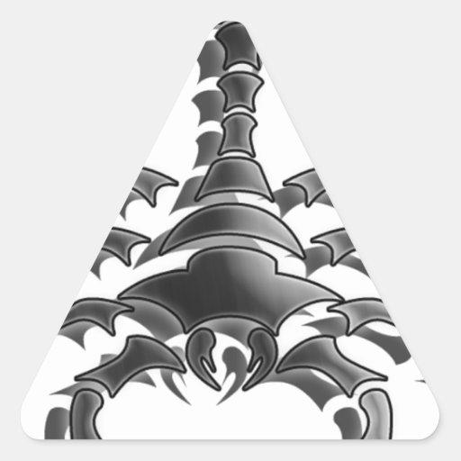 Escorpião Adesivos Triângulo