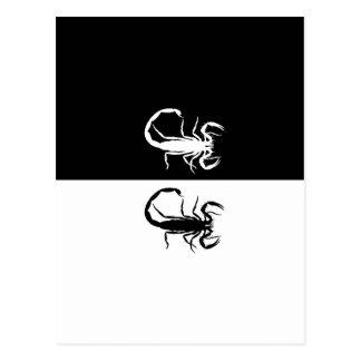 escorpião cartão postal