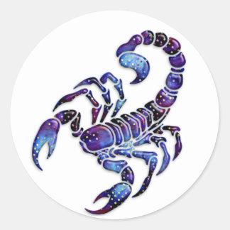 Escorpião celestial adesivo