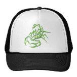 Escorpião de néon verde bone