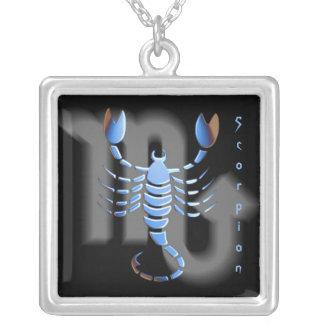 Escorpião de Pendentif signe du zodíaco Colares