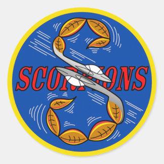 Escorpião do vôo de S Adesivo