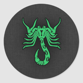 Escorpião verde de Kelly Adesivos