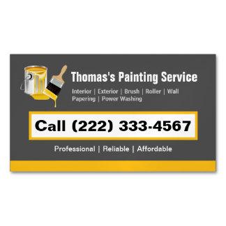 Escova de pintura profissional do pintor do