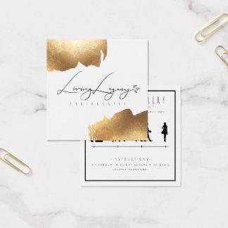 Escova do ouro do CARTÃO | do ACESSO de CLIENTE
