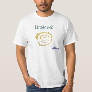 escravo do salário não mais t-shirt