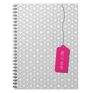 Escreva em mim o caderno