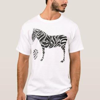 Escrita árabe camiseta