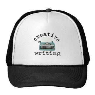 Escrita criativa boné