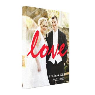 Escrita Wedding personalizada personalizada do
