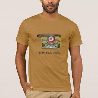 Escritor do rascunho camiseta
