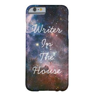 Escritor na casa - capa de telefone