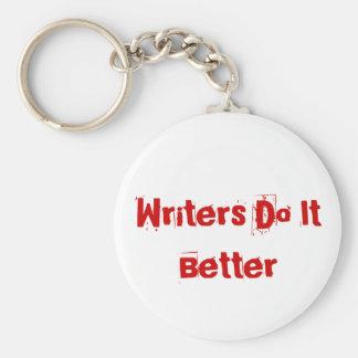 Escritores melhora o chaveiro