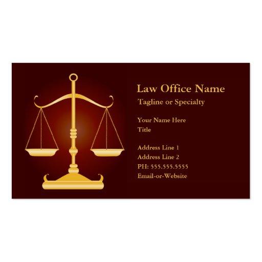 escritório de advogados modelos cartao de visita