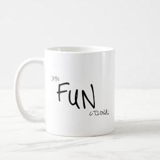 Escritório disfuncional engraçado caneca de café
