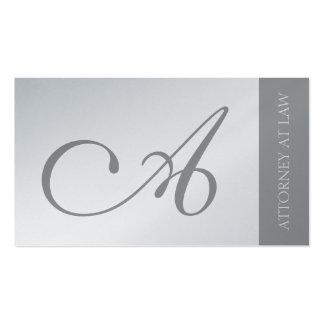 Escritório legal da empresa de advocacia do cartão de visita