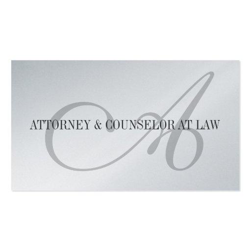 Escritório legal da empresa de advocacia do consel cartoes de visita