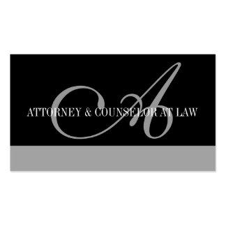 Escritório legal da empresa de advocacia do consel modelos cartões de visita