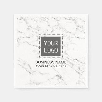 Escritório para negócios de mármore branco moderno guardanapo de papel