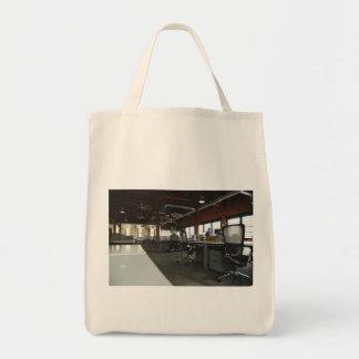 escritório sacola tote de mercado
