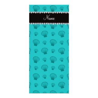 Escudos conhecidos personalizados de turquesa planfetos informativos coloridos