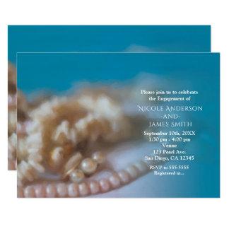 Escudos & convites Beachy pintados elegantes das