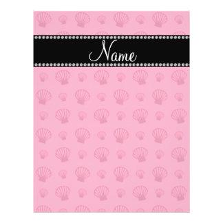 Escudos cor-de-rosa conhecidos personalizados