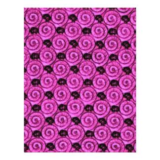Escudos e rosa das flores flyer 21.59 x 27.94cm