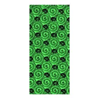 Escudos e verde das flores 10.16 x 22.86cm panfleto