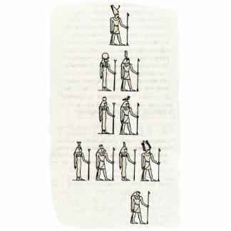 Escultura da foto - cosmogonia egípcia foto escultura