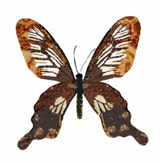 Escultura da foto da borboleta de Golddust Escultura De Fotos