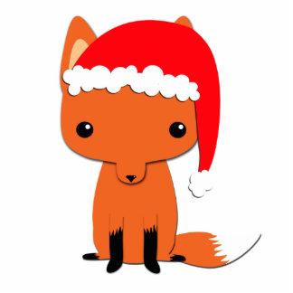 Escultura da foto da raposa do Natal Escultura De Fotos