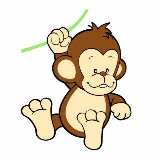 Escultura da foto do macaco foto escultura