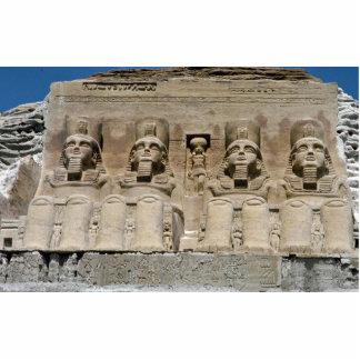 Escultura de ruínas egípcias Egyp da areia do mod Fotoescultura